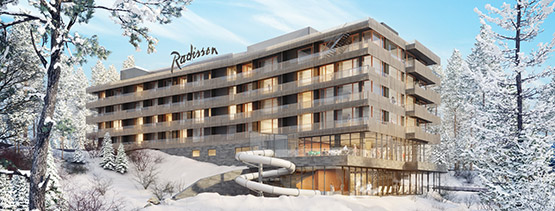 radisson sp 555