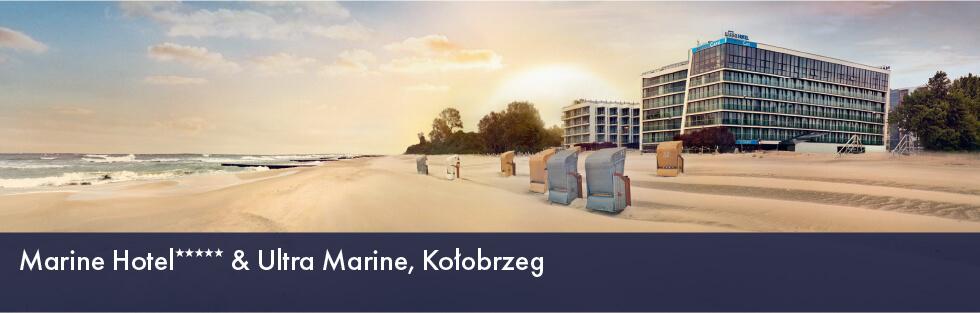 Marine Hotel***** & Ultra Marine, Kołobrzeg