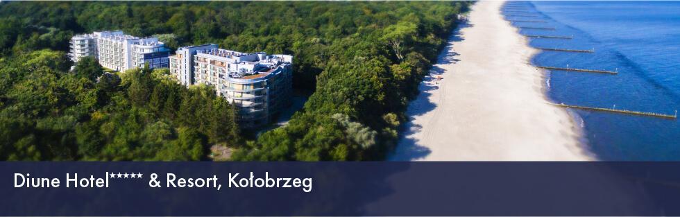 Diune Hotel***** Resort, Kołobrzeg